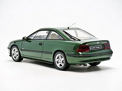 Otto Mobile ot651 - Opel Calibra Turbo 4 x 4 - Escala 1/18 - verde Metal: Amazon.es: Juguetes y juegos