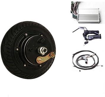 8 Pulgadas 350 W 36 V freno de tambor Buje de rueda eléctrica del ...