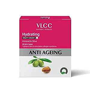 VLCC Hydrating Anti-Ageing Night Cream, 50g