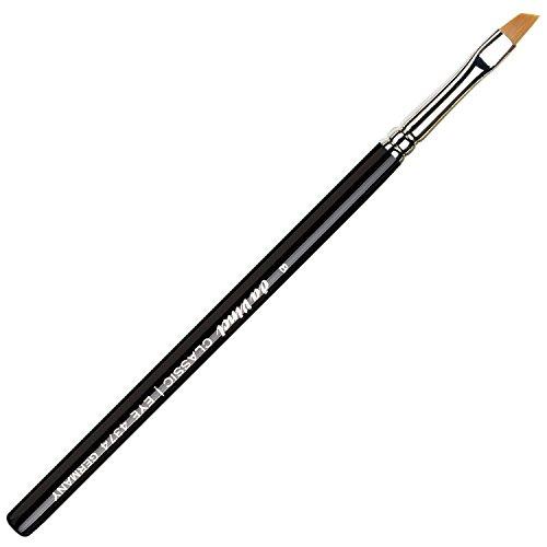da Vinci Cosmetics Series 4374 Classic Eyeliner Brush, Angled Liner Synthetic, Size 8, 11.1 Gram