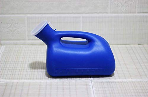 Male Urinal Portable Pee Bottle Toilet 2000 ML for Hospital Home Camping Car Travel by Wpmlady