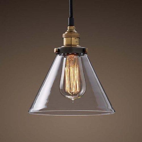 Glass Funnel Pendant Light in Florida - 5