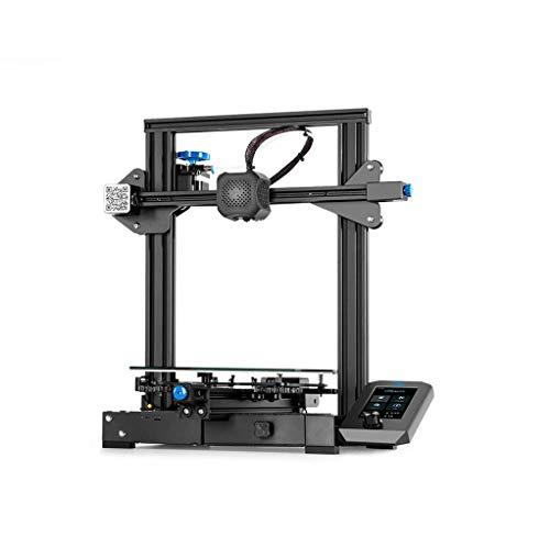 DT Creality 3D Ender 3 V2 Upgraded Printer Kit DIY 220x220x250mm Printing Size Support Resume Silent 32-bit Mainboard Ultra-Silent TMC2208 Carborundum Glass Platform