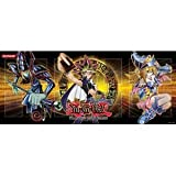 Yugioh Gold Series 4 Pyramids Edition Yugi Playmat featuring Dark Magician and Dark Magician Girl