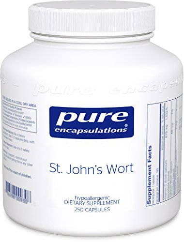 Pure Encapsulations - St. John's Wort - Hypoallergenic Supplement Promotes Emotional Well-Being* - 250 Capsules by Pure Encapsulations