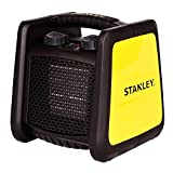 STANLEY ST-221A-120 Low Profile Electric Heater, Black, Yellow Review