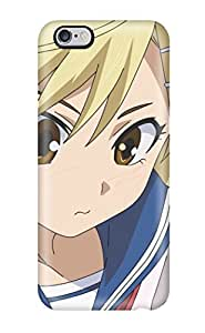 (EbwLnmE14419Fetfk)durable Protection Case Cover For Iphone 6 Plus(blondes School Uniforms Schoolgirlsbrown Twintails Nyan Koi Blush Sailor Uniforms White Ornamentspins Kirishima Akari)