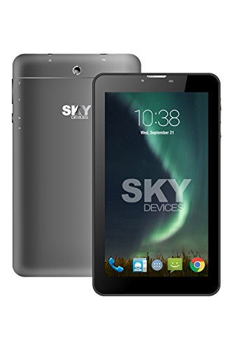 SKY Devices Platinum Series 7.0W - 4G HSPA+GSM Unlocked Dual-SIM 1.3GHz Quad-Core Global Smartphone Tablet with 5MP+2MP Cameras, 7