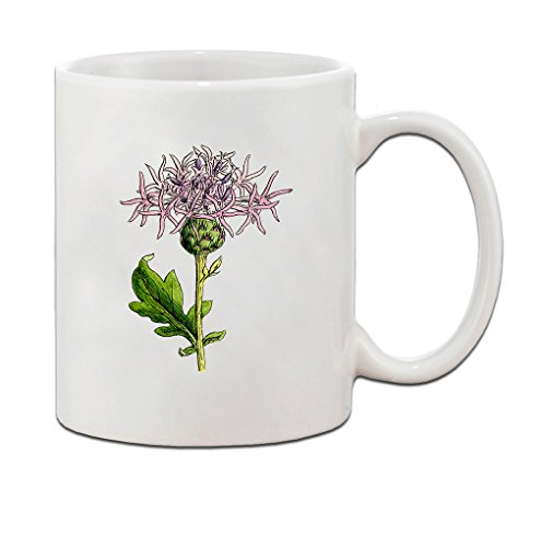 Thistle Ceramic (Thistle Vintage Look Ceramic Coffee Tea Mug Cup 11 Oz - Holiday Christmas Hanukkah Gift for Men & Women)