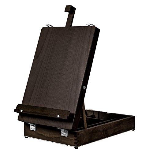 Kingart 702 (Espresso) - Caballete de mesa (madera, talla única)