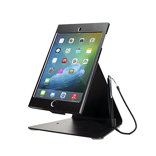CTA Digital PAD-MDASB Desktop Anti-Theft iPad Mini Stand, Black ()