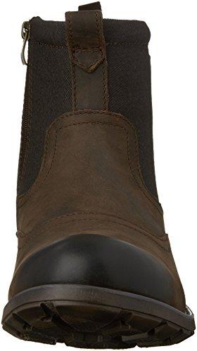 Clarks Mens Guard Top Chukka Boot Brown