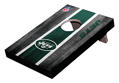 Wild Sports NFL New York Jets Mini Cornhole Game