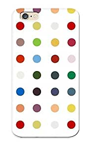 Iphone 6 LvWlGUx1080PdNlu Colorful Polka Dots Tpu Silicone Gel Case Cover For Lovers