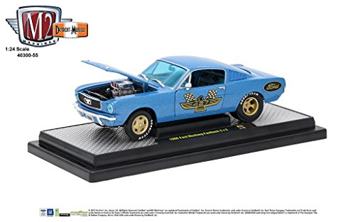 (M2 Machines 1:24 Scale 1966 Ford Mustang Fastback 2+2 Release 55A 17-10)