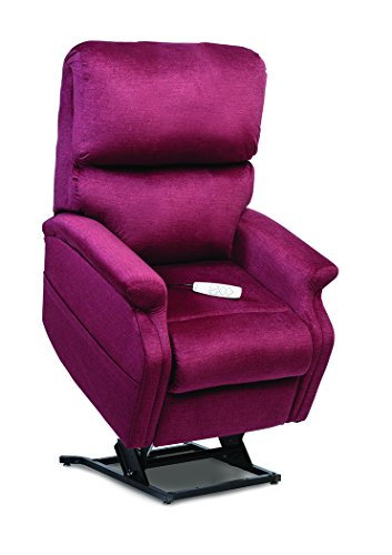 Petite Lift Chair (Pride LC-525iPW (Petite Wide) Infinity Collection Lift Chair with True Infinite-Position Seating (Durasoft - Ember, Inside Delivery and Setup))