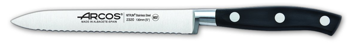 Arcos Forged Riviera 5 Inch 130 mm Tomato Knife by ARCOS