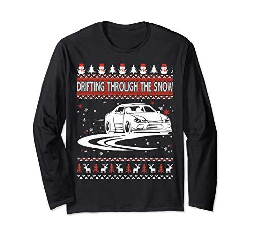 Drifting Through The Snow Ugly Christmas Sweater (Drifting Snow)