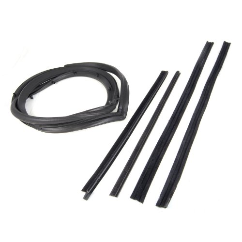 (Omix-Ada 12303.51 Driver Side Full Door Seal Kit with Moveable Window Vent )