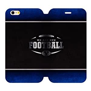 Generic Custom Unique Otterbox You Deserve--Brigham Young University NCAA BYU Cougars Teams Logo PC and High Grade PU Leather Case For Iphone 4/4S Cover