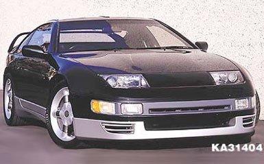 Amazon.com: Kaminari K031425 Nascar Front Bumper Lip Twin Turbo TT Nissan 300ZX 90-96 Z32: Automotive