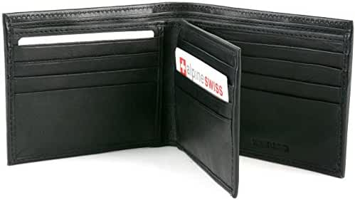 Alpine Swiss Mens Leather Wallets Money Clips Card Cases 6 Top Models To Choose