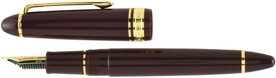 Sailor 1911 Standard Maroon Gold Trim 14K Extra Fine Point Fountain Pen NEW