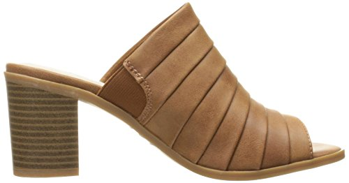 Easy Street Womens Chella Mule Tan Brunito