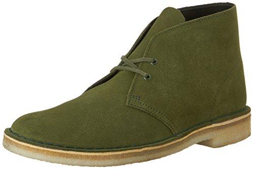 Clarks Desert Boots aus Wildleder Leaf