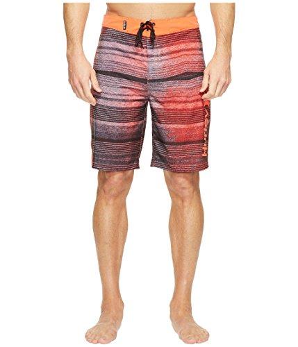 "Hurley Men's Phantom Sandbar 20"" Boardshorts Bright Crimson"