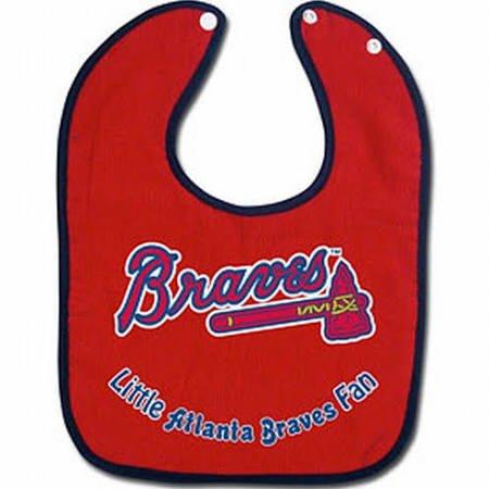 WinCraft MLB Atlanta Braves WCRA0115614 All Pro Baby Bib