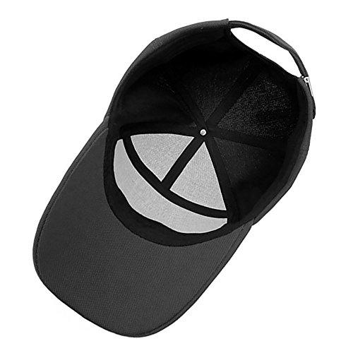 Papá Gris Lamdgbway Proteccion Hombres Beisbol de Gorra Sombrero Solar Oscuro Respirable de FzFOqr