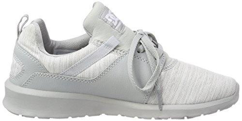 DC Heathrow TX Grey Sneaker Shoes Grigio Grey Grey Se Xsss Donna Combo rC5crqW