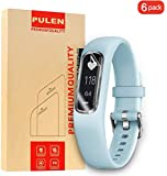PULEN for Garmin Vivosmart 4 Screen Protector TPU Skin HD Scratch Resistant Anti-Fall Bubble Free Anti-Fingerprints…