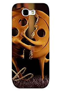 Crazinesswith Cute SkMgdgo9270YlMoe Button Halves Reunited Case Cover Design For Galaxy Note 2