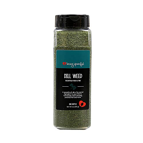 - Loving Spoonful 6 oz Premium Dill Weed | Food Service Bulk Size (Bottle)