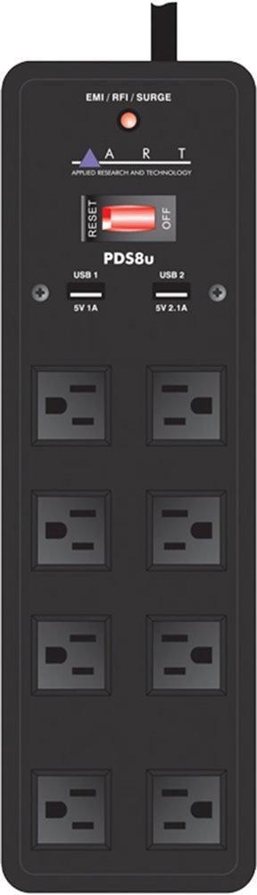 ART PDS8U Power Distribution Surge Protector