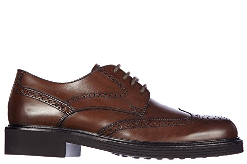 b50bf0586a5 low-cost Tod s men s classic leather lace up laced formal shoes derby  bucature fondo xl