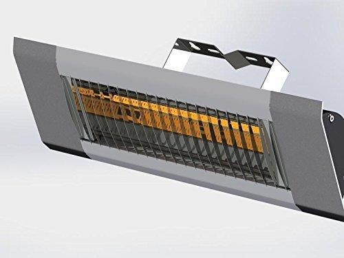 Lampada infrarossi professionale sunrad 1500w mod. elegance per