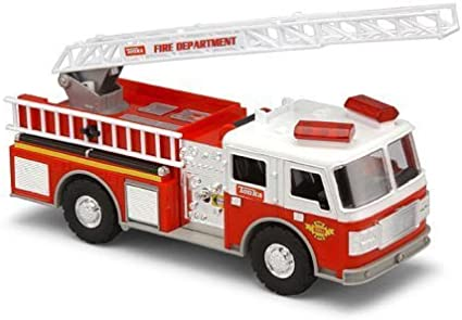 TONKA RED FIRE TRUCK FIRETRUCK RESCUE FORCE REAL TOUGH NEW IN BOX LIGHTS SOUNDS
