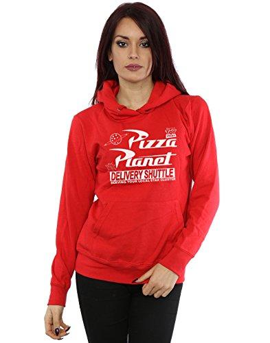 Logo Rojo Toy Planet Pizza Disney Capucha Mujer Story wXq80U0