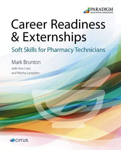 Certification Exam Review for Pharmacy Technicians: Text