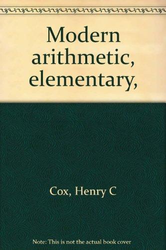 Modern arithmetic, elementary,