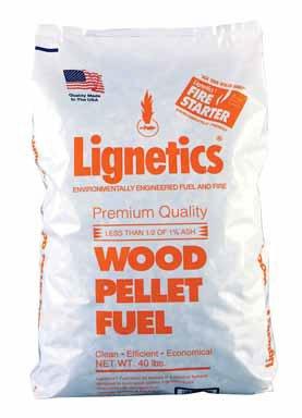 40LB WD Pellet Fuel by LIGNETICS OF IDAHO