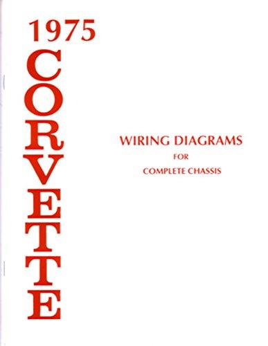 Wiring Diagram Electrical Oem (bishko automotive literature 1975 Chevrolet Corvette Electrical Wiring Diagrams Schematics Mechanic OEM Book)