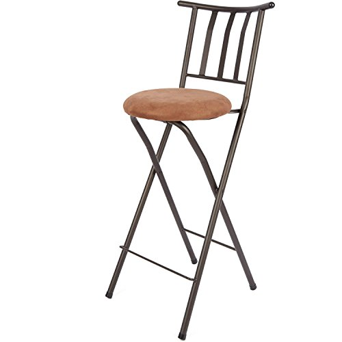 Home Furniture Sitting Bar Stool Bronze 30 Empress Metal
