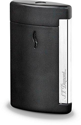S.T. Dupont MiniJet Chrome Finish Lighter Matt Black 10503