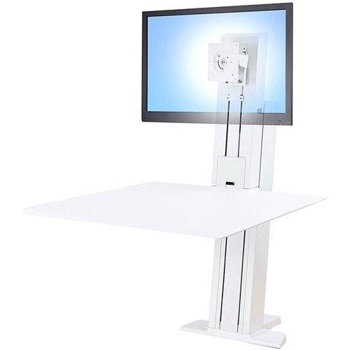 Ergotron 33-415-062 WorkFit-SR Sit-Stand Workstation, White