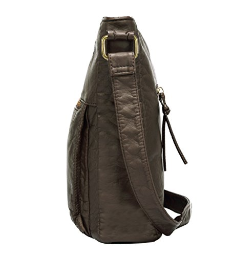 Scarleton Soft Multi Pocket Crossbody Bag H1812  0acdb33f6b7d8