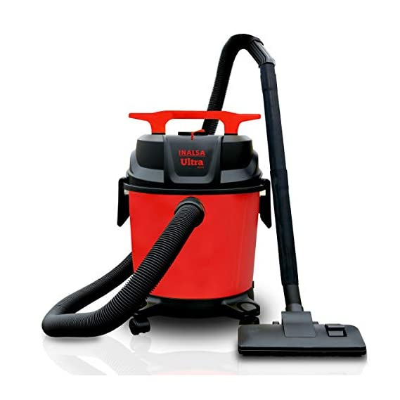 Inalsa Ultra WD10 Wet & Dry Vacuum Cleaner-1000W with 3in1 Multifunction Wet/Dry/Blowing  14KPA Suction and Impact